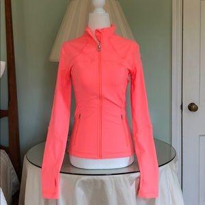 Lululemon Coral Colored Jacket Size 4